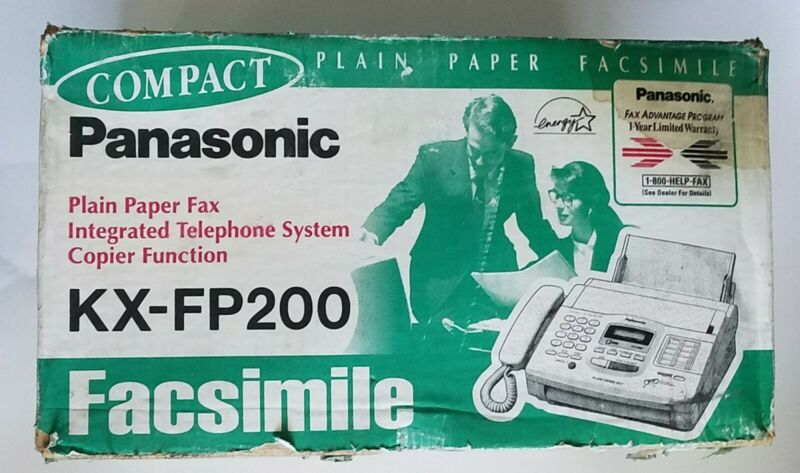 Panasonic KX-FP200 Fax Copy Phone Machine
