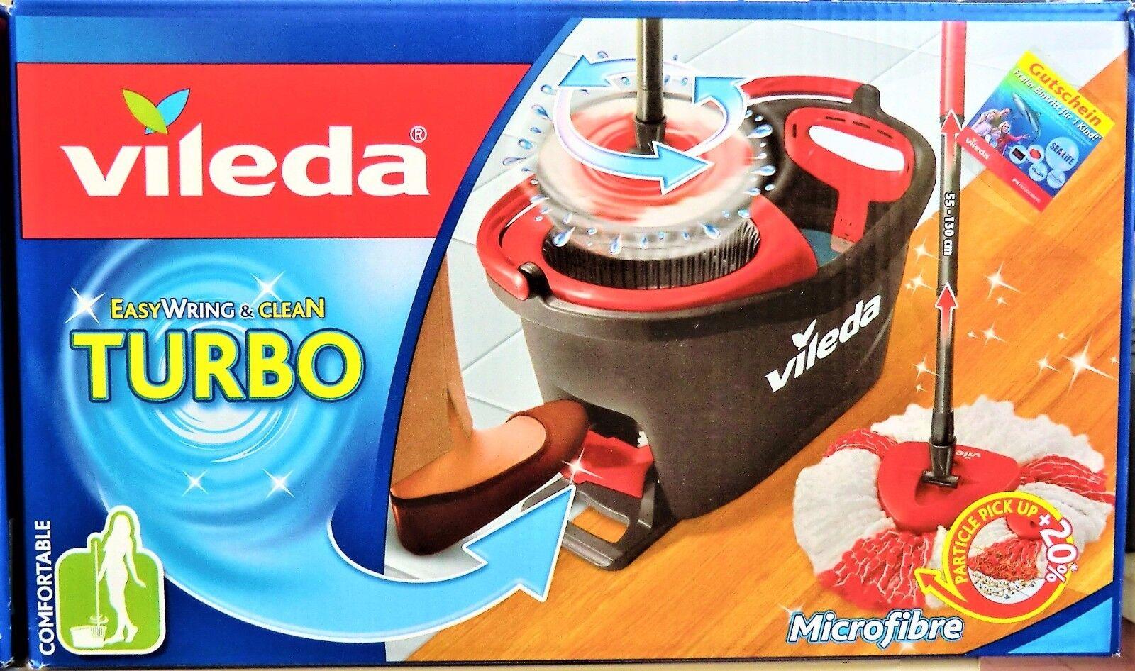 Vileda Turbo Easywring Clean Set Plus 1x Wischmop