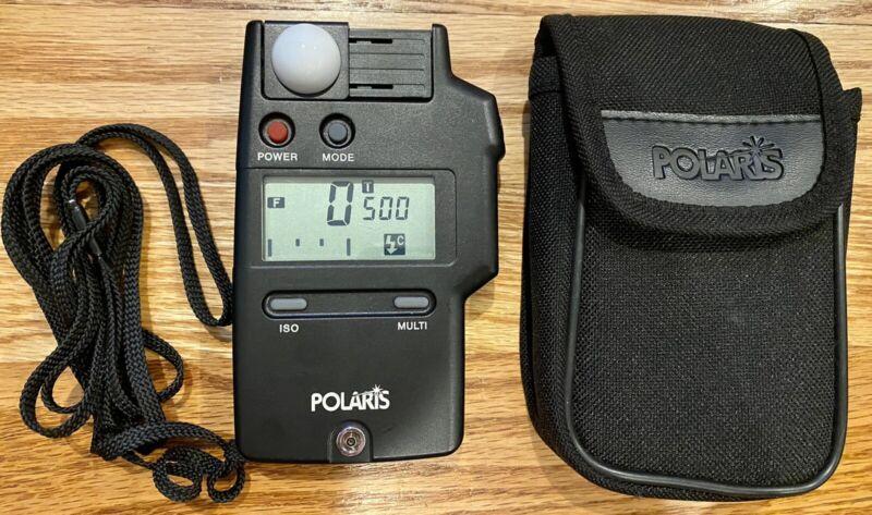 Polaris Flash Meter with Case & Reverse Polarity Adapter