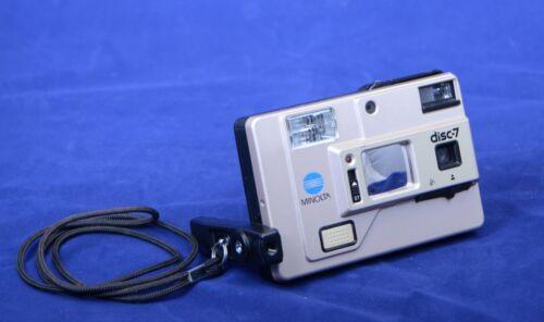 MINOLTA DISC 7 Vintage Film Camera Portable Small Compact