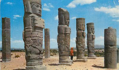 s16854 Colosos de Tula, Hidalgo, Mexico postcard     *COMBINED SHIPPING*