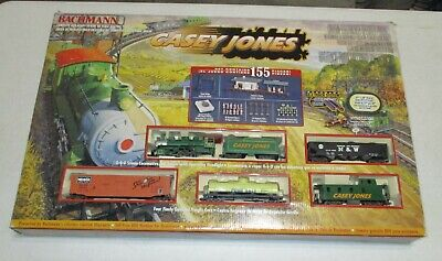 Bachmann Casey Jones HO Gauge Electric Train Set ~ Sealed Plastic Parts Bags