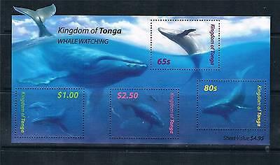 Tonga 2005 Whales MS 1608 MNH