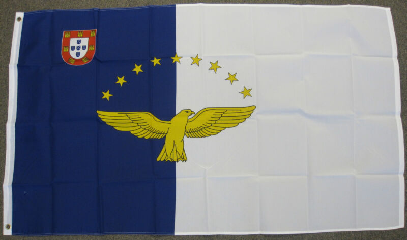 3X5 AZORES ISLANDS FLAG ISLAND NEW FRANCE FRENCH F035