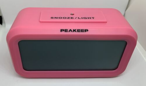 Peakeep Battery Digital Alarm Clock Snooze And Night Light B