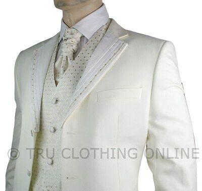 Cream Wedding Suits For Men Mens Wedding Party Suit Cream