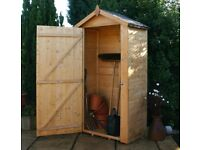 Wooden Garden Sentry Store - Mini shed ideal for small backyards etc