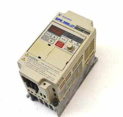 Yaskawa Cimr-j7am20p4 Ac Frequency Drive Gpd 305j7 200v 3-ph 0.4kw 0-400hz Ip20