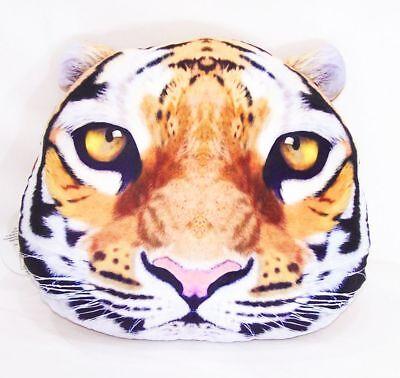 Dekokissen Tiger Kissen Grummelkissen Tiger pillow 45x35cm Reißverschluss Neu