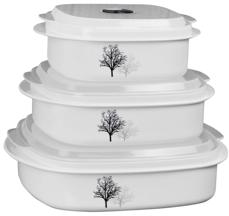 Corelle Coordinates by Reston Lloyd 6-Piece Microwave Cookwa