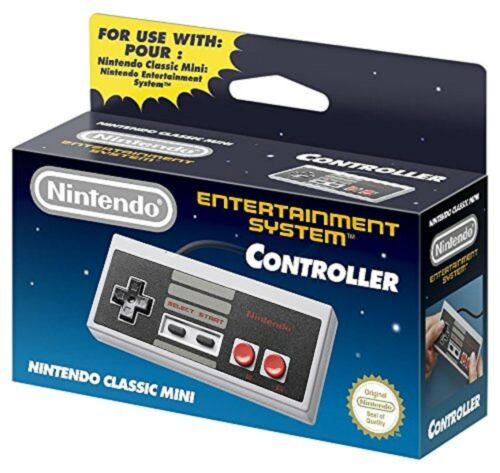 Nintendo NES Controller for Entertainment System: NES Classic Edition CLVACNES