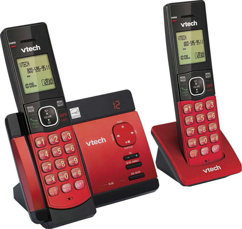 VTech - CS5129-26 DECT 6.0 Expandable Cordless Phone System with Digital Answ...