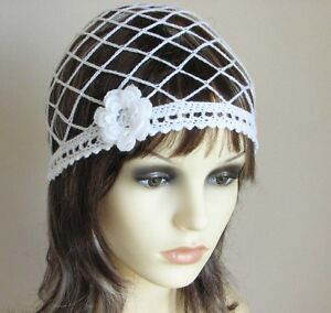 CROCHET-PATTERN-Instructions-JULIET-CAP-beanie-hat-wedding-bridal-ref-22J