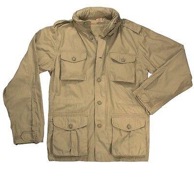 Rothco 8741 Khaki Vintage Lightweight M-65 Jacket