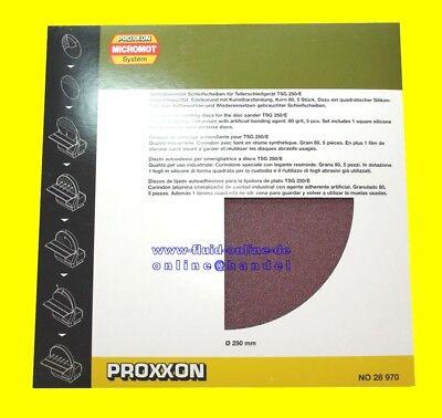 PROXXON 28972 Schleifscheiben Korn 150 inkl. 1 x Silikonfilm für TSG 250/e 28060