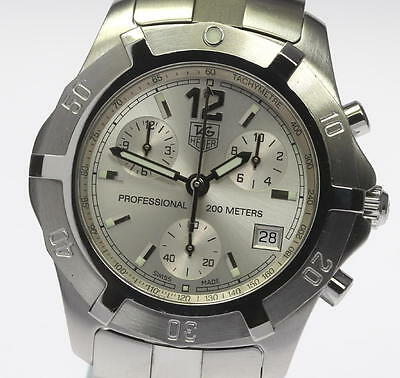 TAG HEUER Men's DIVING WATCH 200M CN1111 Exclusive Chronograph Quartz_337344