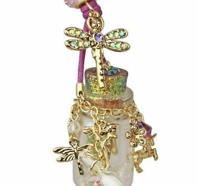 NEW KIRKS FOLLY BOTTLE FAIRY IN A BOTTLE NECKLACE Goldtone