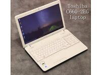 Toshiba C660-2EG laptop with ***6 MONTHS WARRANTY***