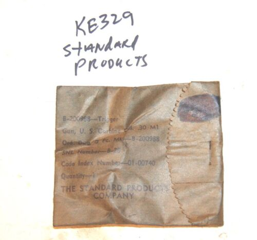 M1 Carbine Trigger, Standard Products  - New in Seal Package  - #KE329