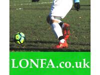 Find a football team in Leeds. Find football near me. Sunday football league. 8KN