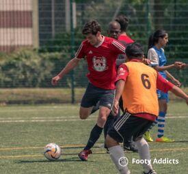 Play casual football games in Selhurst SE London