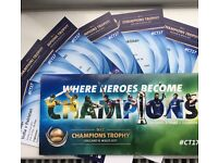 India v Pakistan ICC Champions Trophy- £190!! Upto 6 Tickets & GREAT VIEW SEATS!!