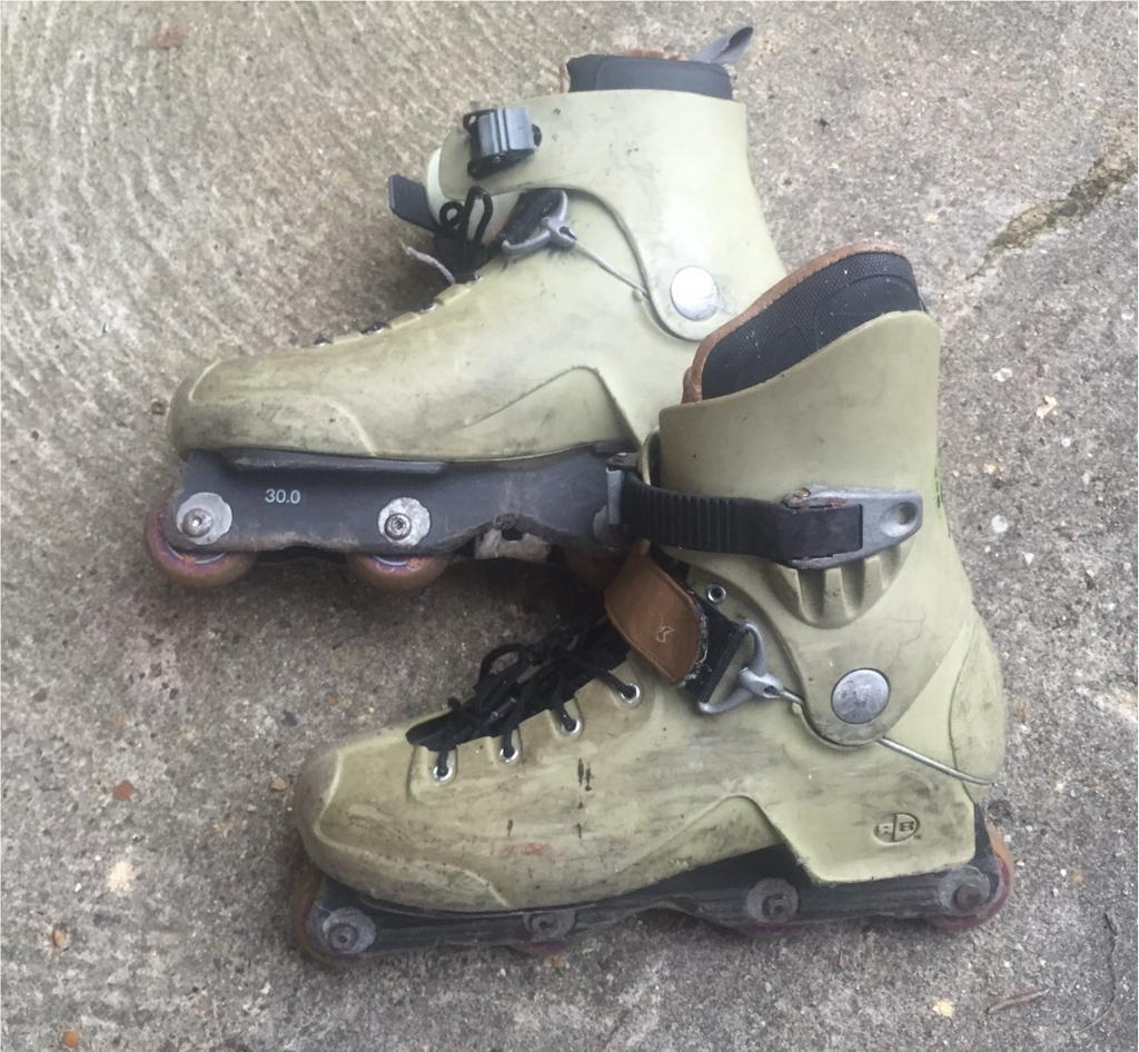 Roller skates kingston - Rollerblade Ci5 Aggressive Inline Skates Rollerblades Size Uk 11