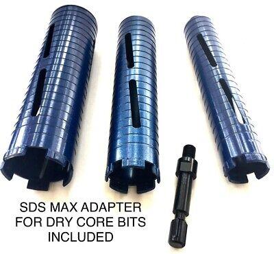 11.5 1 12 2 Diamond Core Bit W Sds Max Adapter Hilti Hammer Drill