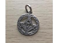 Silver Masonic Pendant