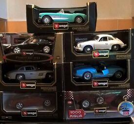 BBURAGO MODEL CARS 1'18