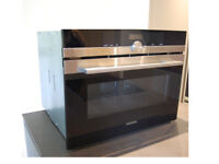 """GREAT CONDITION""(£390) SIEMENS OVEN iQ700 (HB84E562B) Compact/Microwave Combination Stainless Steel"