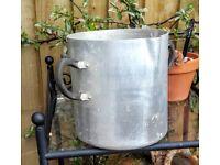 Vintage aluminium jug
