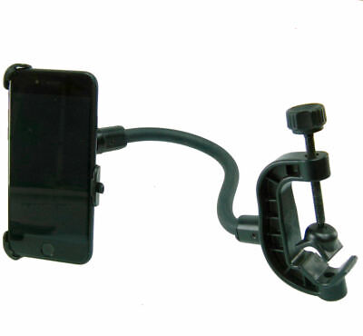 Dedicated Golf Trolley Cart Gooseneck Clamp Mount for iPhone