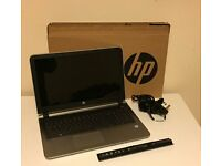 HP laptop i5-6200 12GB RAM 2TB Hard Drive (2000GB) 15.4 HD Camera Windows 10