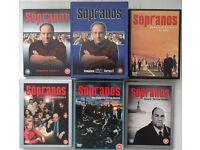 SOPRANOS dvd - Complete series 1-6