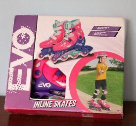 Girls Inline Skates Brand New Size 13-3