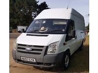 FORD TRANSIT XLWB JUMBO FOR SALE - PRICE REDUCED - NO VAT TO PAY