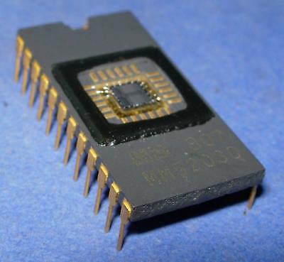 Mm5203q Nsc Mm5203 Ceramic 24-pin Cerdip Gold Leads Uos