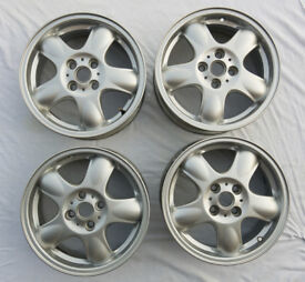 MINI wheels 15inch FOUR 5-Star Spooler Mini One 36116768498 silver