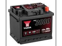 WANTED Car Batteries used / broken