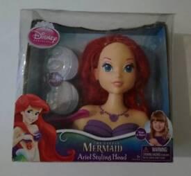 Little Mermaid Ariel Styling head