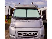 Hymer Tramp sl674, great condition, many extras only 15000miles. Recent service and MOT