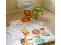 Next Jungle Brights Safari Friends Nursery Accessories