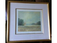 Framed print by John Bond - limited edition