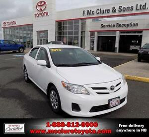 2013 Toyota Corolla CE ENHANCED FULL EQUIPPED
