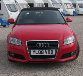Audi, A3 TDI SPORT, 1.9 TDI Sport Convertible 2dr Diesel Manual (134 g/km, 104 bhp)