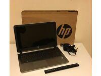 HP laptop i5-6200 12GB RAM 2TB Hard Drive (2000GB) 15.4 HD Camera Windows 10