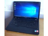 HP Compaq CQ62 laptop - UPGRADED - Ex cond - KODI - MS OFFICE 2016