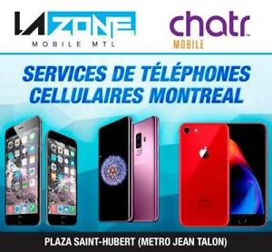 Montreal Smartphone Repair And Services Center / iPhone-Samsung-LG