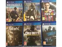 PS4 GAMES FOR SALE CHEAP!!!